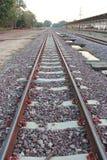 Διαδρομές τραίνων, διαδρομές σιδηροδρόμου Στοκ Εικόνα