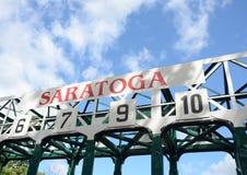 Διαδρομή αγώνων αλόγων Στοκ Φωτογραφία