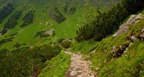 Διαδρομή βουνών Στοκ Φωτογραφία