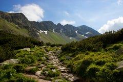 Διαδρομή βουνών Στοκ εικόνα με δικαίωμα ελεύθερης χρήσης