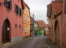 Διαδρομή κρασιού ταξιδιού στη Γαλλία Στοκ εικόνα με δικαίωμα ελεύθερης χρήσης