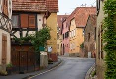 Διαδρομή κρασιού ταξιδιού στη Γαλλία Στοκ φωτογραφίες με δικαίωμα ελεύθερης χρήσης