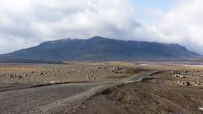 Διαδρομή ορεινών περιοχών Kjölur Στοκ εικόνα με δικαίωμα ελεύθερης χρήσης