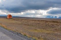 Διαδρομή ορεινών περιοχών Kjölur Στοκ Φωτογραφίες