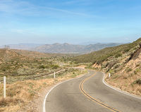 Διαδρομή 66: Πέρασμα Cajon, Angeles Crest Scenic Highway, Angeles Nati Στοκ Εικόνες
