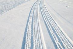 Διαδρομή ροδών αυτοκινήτων Στοκ Φωτογραφία