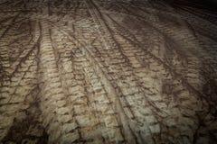 Διαδρομή ροδών καμπυλών Στοκ Εικόνα