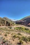 Διαδρομή 13 σε Iruya στην επαρχία Salta, Αργεντινή στοκ φωτογραφίες με δικαίωμα ελεύθερης χρήσης
