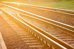 Διαδρομή σιδηροδρόμου Στοκ Εικόνα