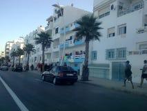 Διαδρομή στην πόλη m'diq, Μαρόκο Στοκ φωτογραφίες με δικαίωμα ελεύθερης χρήσης