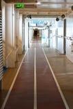 Διαδρομή Jogging σε ένα κρουαζιερόπλοιο Στοκ Εικόνες