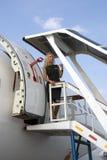 Διεθνές αεροδιαστημικό σαλόνι MAKS sukhoi 100 superjet Στοκ Φωτογραφίες