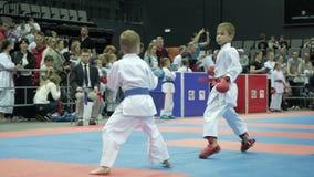 Διεθνές ανοικτό karate φλυτζάνι Μινσκ, Λευκορωσία απόθεμα βίντεο