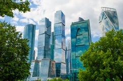Διεθνές εμπορικό κέντρο της Μόσχας πόλεων της Μόσχας, Ρωσία Στοκ Εικόνες