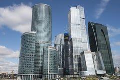Διεθνές εμπορικό κέντρο της Μόσχας Στοκ Εικόνες