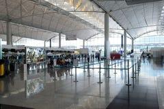 Διεθνές εσωτερικό αερολιμένων Χονγκ Κονγκ Στοκ Εικόνα