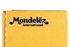 Διεθνές λογότυπο Mondelez Στοκ Εικόνα