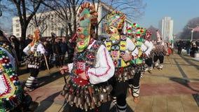 Διεθνές φεστιβάλ των παιχνιδιών Surva μεταμφιέσεων σε Pernik φιλμ μικρού μήκους