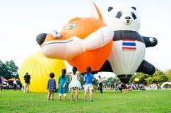 Διεθνές φεστιβάλ 2013 μπαλονιών της Ταϊλάνδης Στοκ Εικόνα