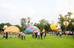 Διεθνές φεστιβάλ 2013 μπαλονιών της Ταϊλάνδης Στοκ φωτογραφία με δικαίωμα ελεύθερης χρήσης