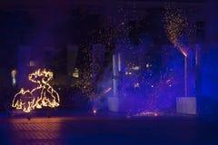 Διεθνές φεστιβάλ των θεάτρων ULICA οδών στο θέατρο Cracow_Xarxa Στοκ Φωτογραφίες