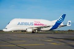 Διεθνές airbus A300B4-608ST μεταφορών airbus Στοκ Εικόνες