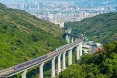 Διεθνές MRT αερολιμένων Taoyuan Στοκ Εικόνα