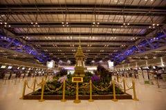 διεθνές suvarnabhumi της Μπανγκόκ αερολιμένων Στοκ Φωτογραφία