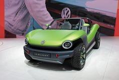 διεθνής έκθεση αυτοκινήτου της 89ης Γενεύης - με λάθη αυτοκίνητο έννοιας ταυτότητας του Volkswagen στοκ φωτογραφία με δικαίωμα ελεύθερης χρήσης