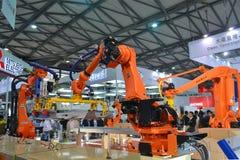 Διεθνής έκθεση 2014 βιομηχανίας της Κίνας στοκ εικόνες