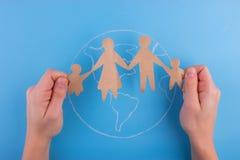 Διεθνής έννοια οικογενειακής ημέρας στοκ φωτογραφία με δικαίωμα ελεύθερης χρήσης