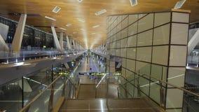 Διεθνής αερολιμένας σε Doha, Κατάρ Στοκ εικόνες με δικαίωμα ελεύθερης χρήσης