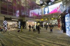Διεθνής αερολιμένας Σινγκαπούρης Changi Στοκ εικόνα με δικαίωμα ελεύθερης χρήσης