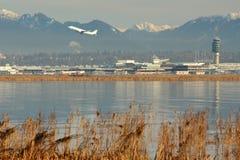 Διεθνής αερολιμένας του Βανκούβερ, YVR Στοκ φωτογραφία με δικαίωμα ελεύθερης χρήσης