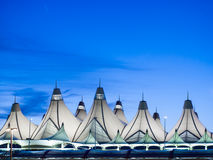 Διεθνής αερολιμένας του Ντένβερ Στοκ φωτογραφία με δικαίωμα ελεύθερης χρήσης