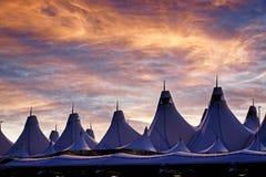 Διεθνής αερολιμένας του Ντένβερ στοκ φωτογραφία