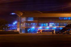 Διεθνής αερολιμένας DA Nang Στοκ Εικόνες