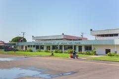 Διεθνής αερολιμένας στην επαρχία Bocas del Toro στον Παναμά Στοκ φωτογραφία με δικαίωμα ελεύθερης χρήσης