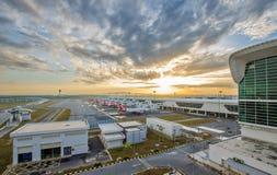 Διεθνής αερολιμένας 2 της Κουάλα Λουμπούρ (KLIA 2) σε Sepang Στοκ εικόνα με δικαίωμα ελεύθερης χρήσης