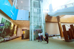 Διεθνής αερολιμένας της Μαλαισίας Κουάλα Λουμπούρ Στοκ εικόνες με δικαίωμα ελεύθερης χρήσης