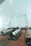 Διεθνής αερολιμένας της Μαλαισίας Κουάλα Λουμπούρ Στοκ Φωτογραφία