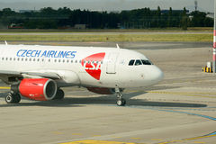 Διεθνής αερολιμένας της Πράγας Στοκ Εικόνα