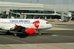 Διεθνής αερολιμένας της Πράγας Στοκ εικόνα με δικαίωμα ελεύθερης χρήσης