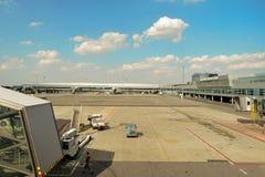 Διεθνής αερολιμένας της Πράγας Στοκ φωτογραφία με δικαίωμα ελεύθερης χρήσης