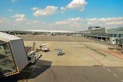 Διεθνής αερολιμένας της Πράγας Στοκ Φωτογραφία