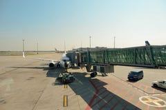 Διεθνής αερολιμένας της Πράγας Στοκ φωτογραφίες με δικαίωμα ελεύθερης χρήσης