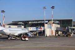 Διεθνής αερολιμένας του Ben Gurion Στοκ Φωτογραφία