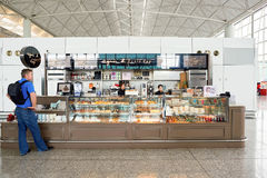 Διεθνής αερολιμένας Χονγκ Κονγκ Στοκ εικόνα με δικαίωμα ελεύθερης χρήσης