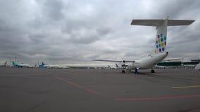 Διεθνής αερολιμένας Astana απόθεμα βίντεο