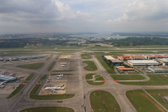 Διεθνής αερολιμένας Changi Στοκ φωτογραφία με δικαίωμα ελεύθερης χρήσης